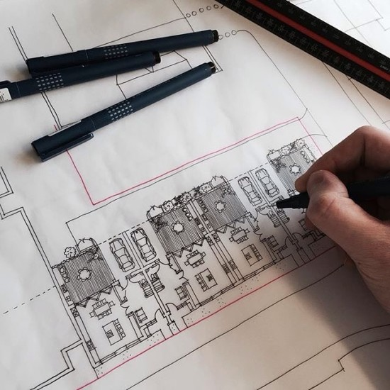 architecture sketching in offices via archisketcher