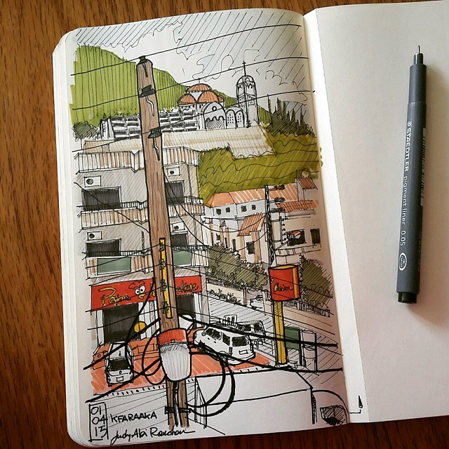 championing drawing lebanon